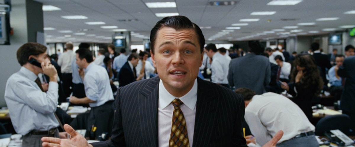 wolf of wall street quotes I'm not leaving